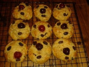 Prize-winners: Anne's delicious ginger and orange cherubs