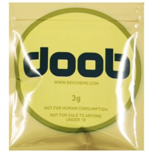 A packet of the legal high 'Doob'