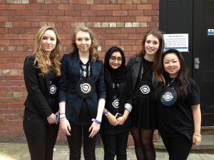 Allerton High School business team 'Arketype'