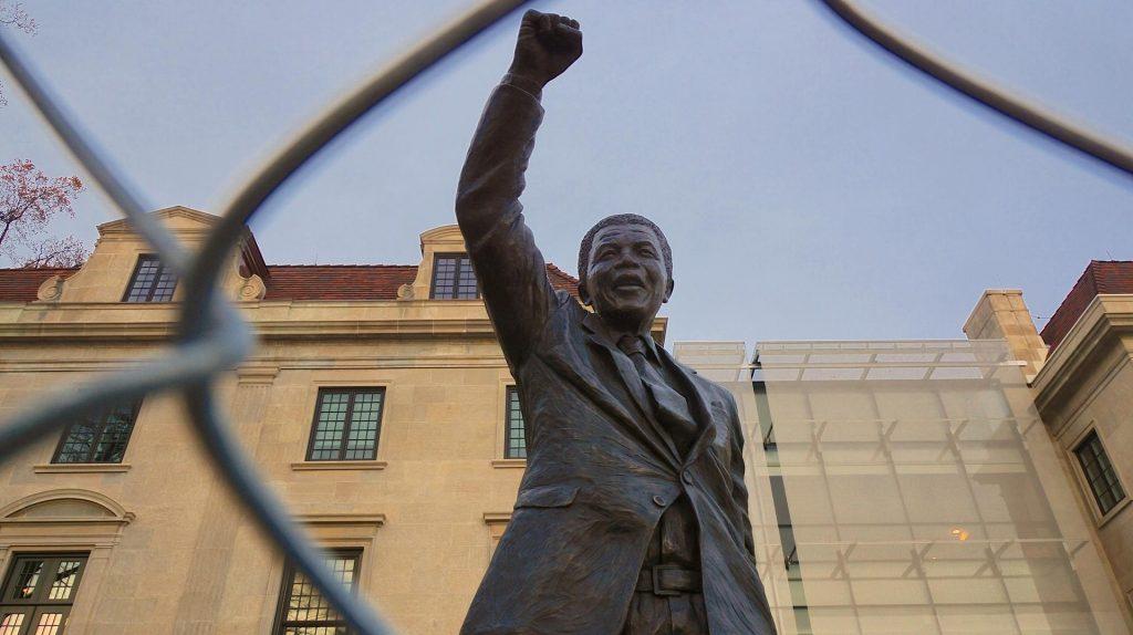Nelson Mandela banner