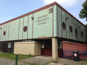 Vandals are believed to have broken into the community centre sometime between Saturday afternoon and Monday morning.