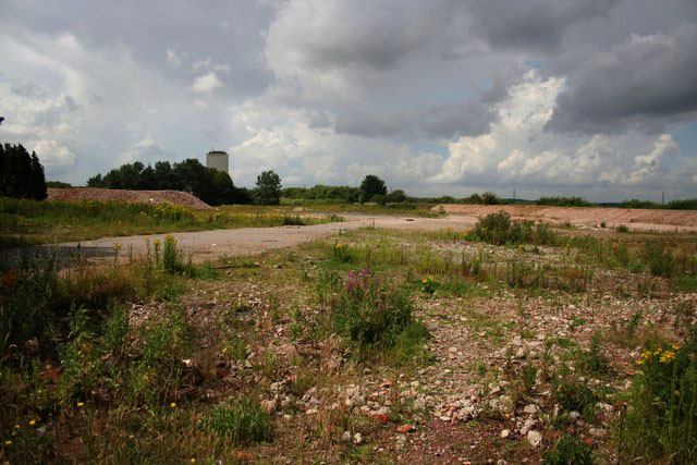 Typical brownfield site