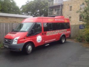 The stolen bus