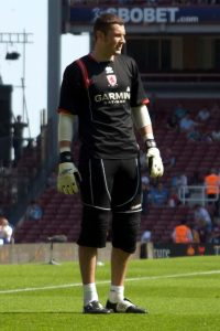 Ross Turnbull during his time at Middlesbrough
