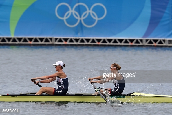 on Day 7 of the Rio 2016 Olympic Games at Lagoa Stadium on August 12, 2016 in Rio de Janeiro, Brazil.